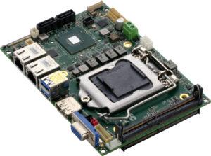 Comet Lake SBC socketed processor