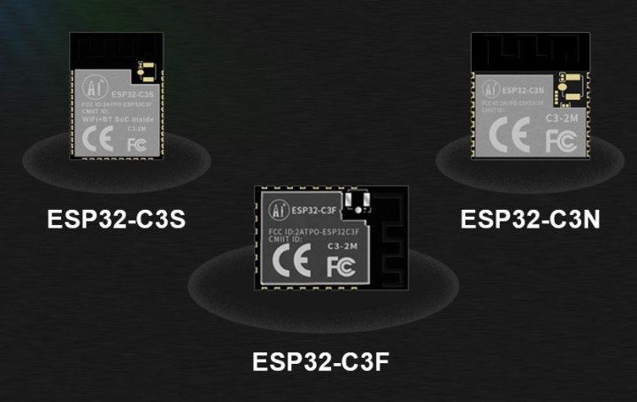 ESP32-C3 modules