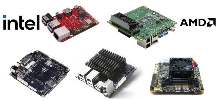 Best Intel AMD single board computers for makers