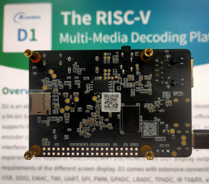 Low-cost Linux RISC-V SBC