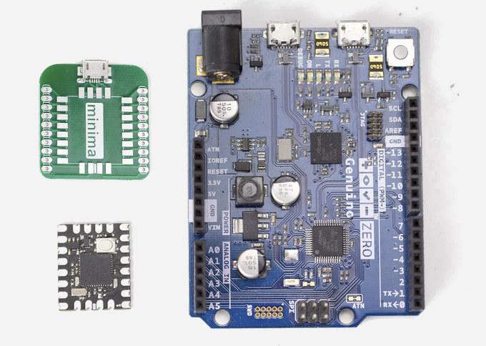 MIcrochip SAMD21 MCU module