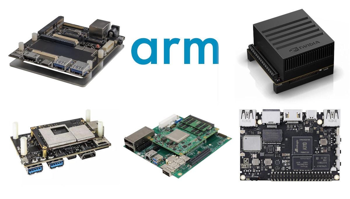 Most Powerful Arm SBCs development kit 2021