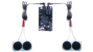 NeuroStimDuino with gel electrodes