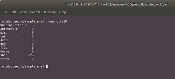 V831 NPU open-source toolchain