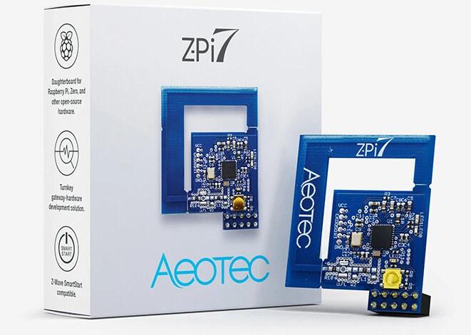 Aeotec Z-Pi 7 Z-wave development kit