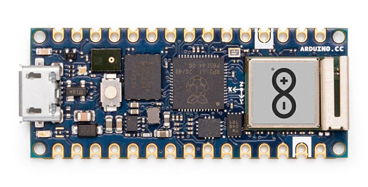Arduino Nano RP2040 Connect without headers