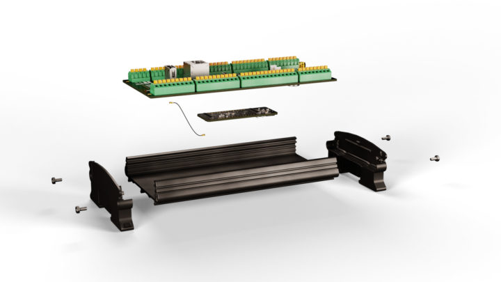Arduino Portenta Machine Control with Portenta H7 exploded view