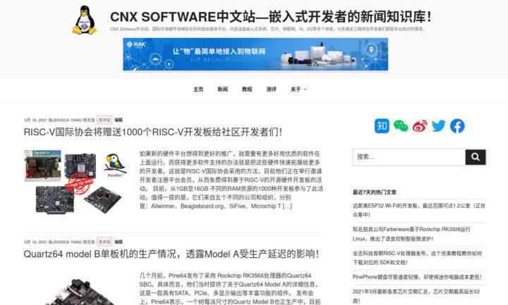 CNX Software China
