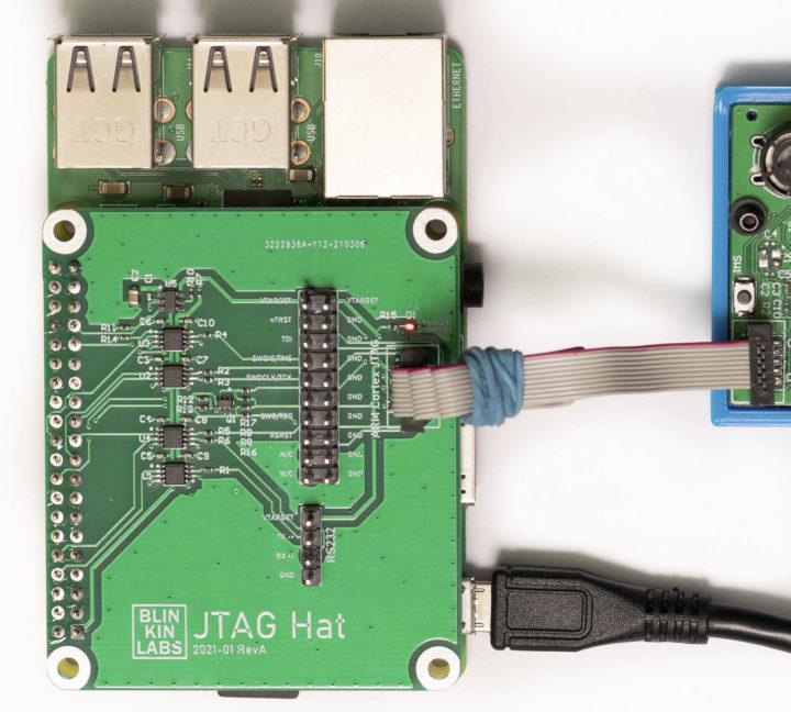 JTAG Hat Raspberry Pi Arm Cortex JTAG Connector