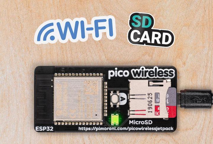 Pico Wireless Pack for Raspberry Pi Pico