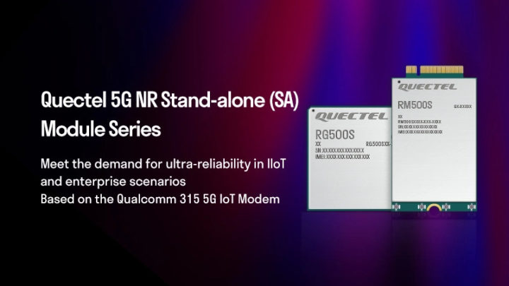 Quectel RG500S & RM500S 5G IoT modules