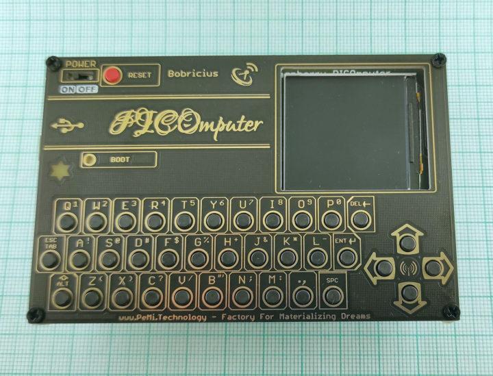 Raspberry Pi Pico QWERTY computer with display & LoRa module