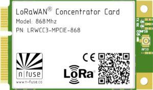SX1303 mpcie lorawan concentrator card