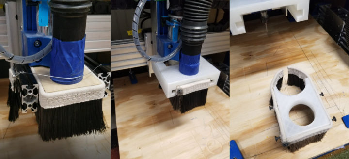 Dust shoe for PROVerXL 4030 CNC router