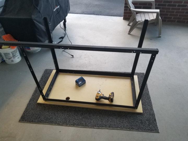 folding cart bed frame