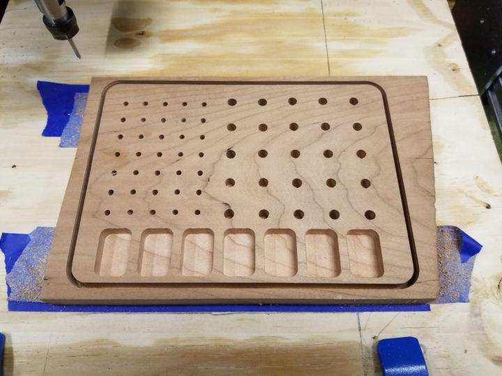 wooden bit holder