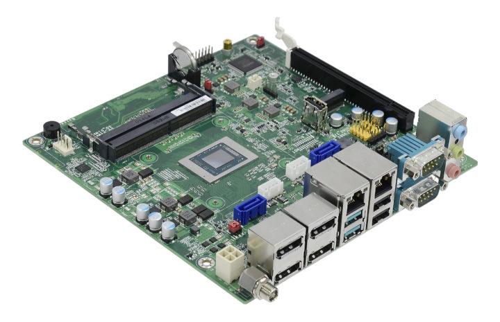 AMD Ryzen Embedded V2000 mini-ITX motherboard