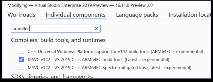 ARM64EC Windows 11