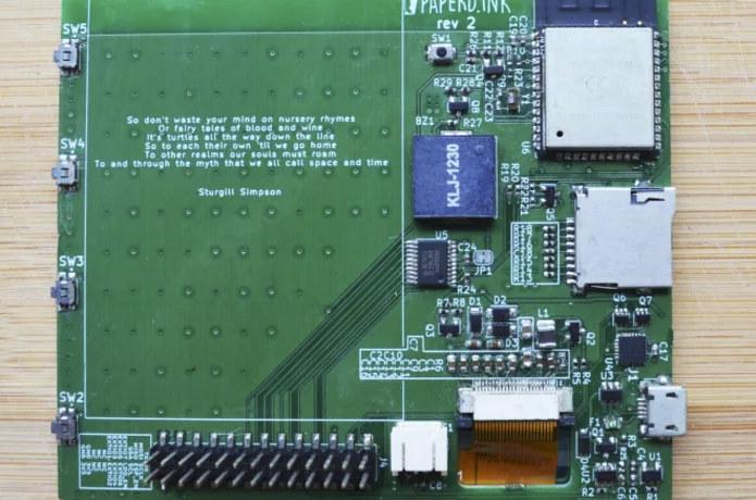 ESP32 ePaper display board