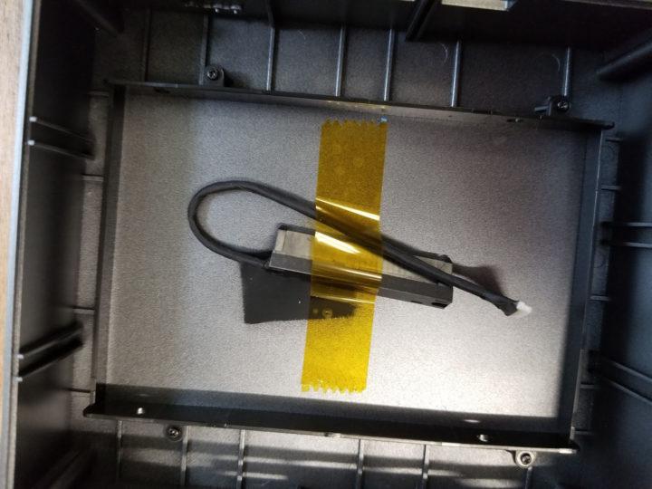 GMK NucBox2 2.5-inch drive bay