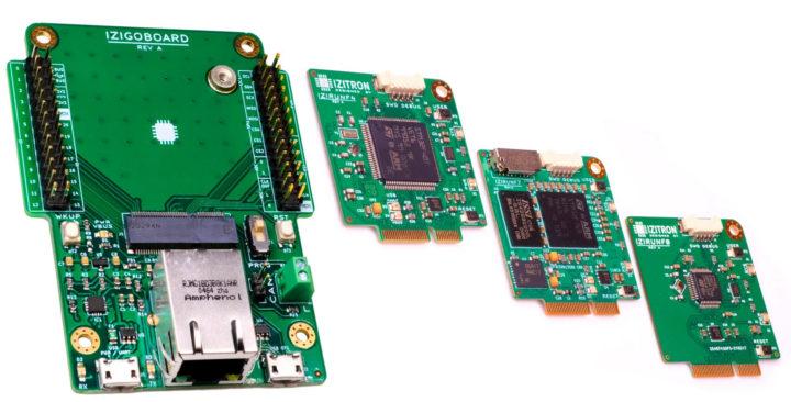 IZIGOBOARD STM32 M.2 MCU boards