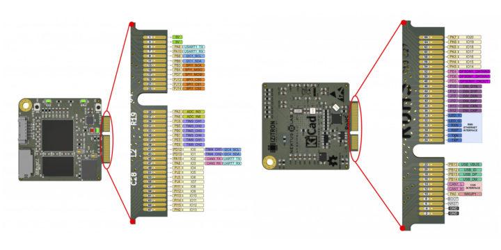 IZIRUN pinout diagram M2 socket