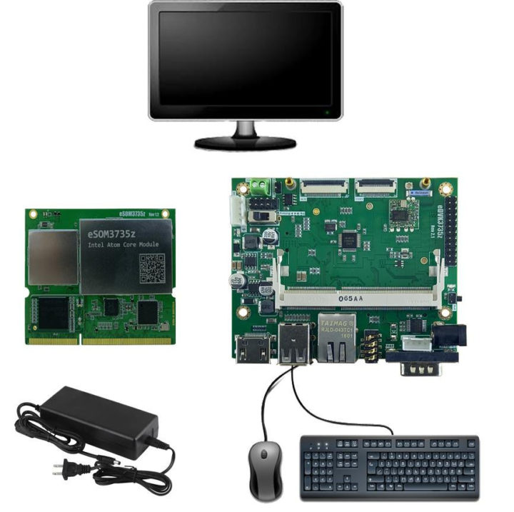 Intel Atom Z3735G development kit