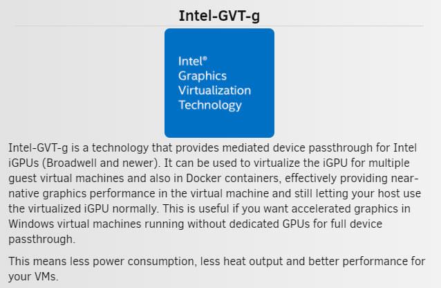 Intel GVT-g