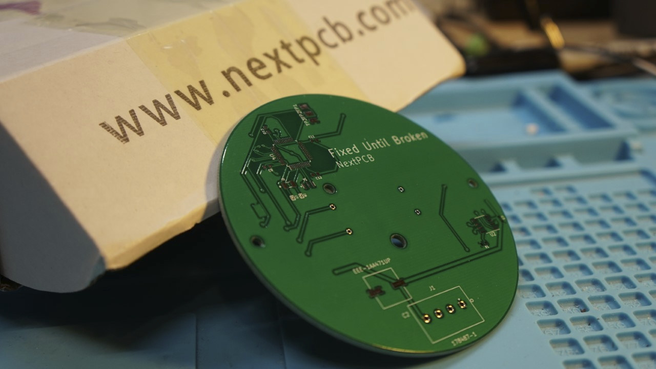 NextPCB sample