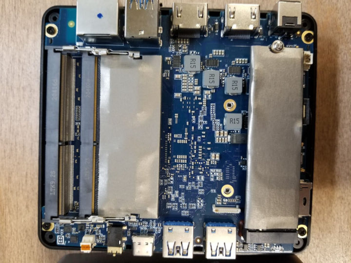 NucBox2 motherboard