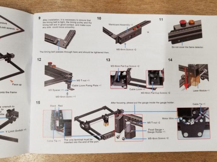 Ortur-Laser Master 2 Pro build instructions