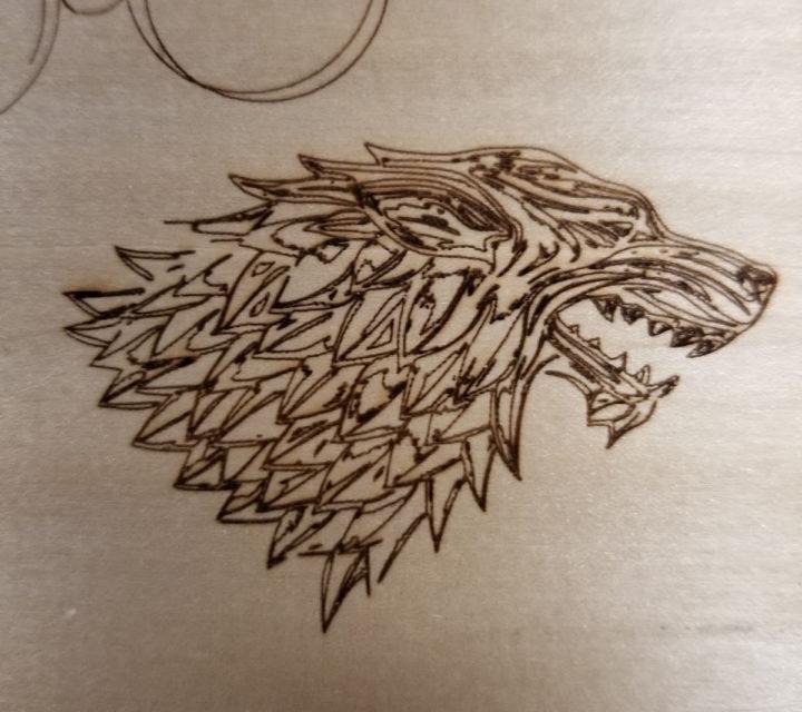 Ortur Laser Master 2 Pro wood engraving