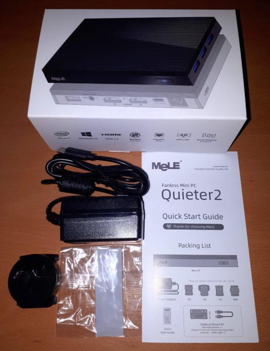 Quieter2 user manual