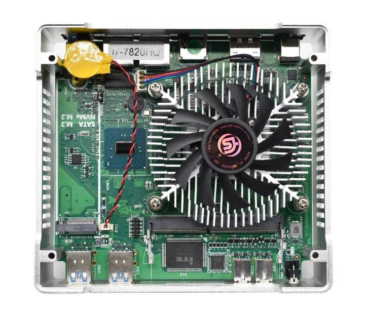TOPTON V320 cooling fan