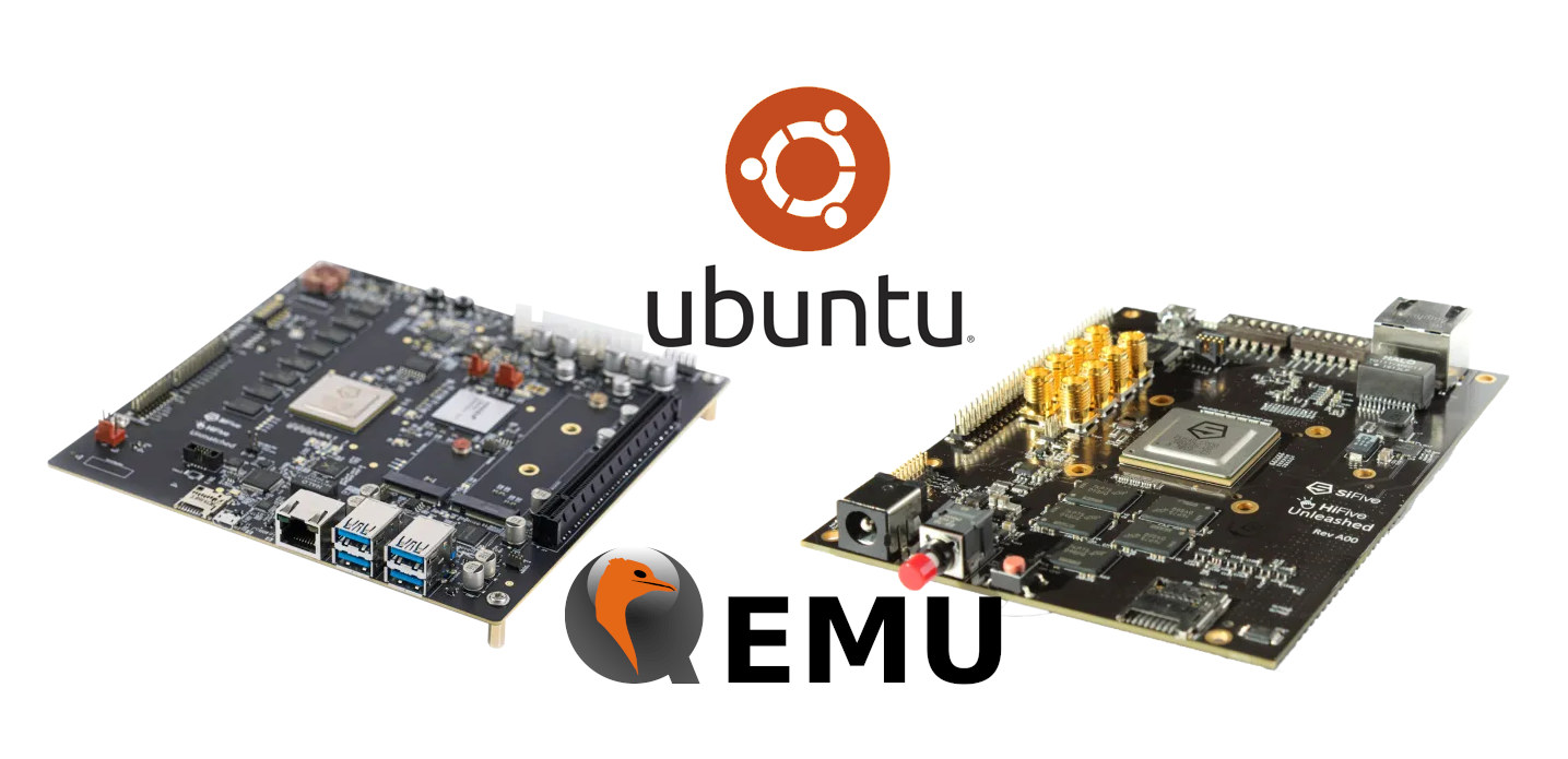 Ubuntu RISC-V HiFive QEMU