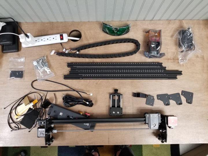 laser engraver assembly