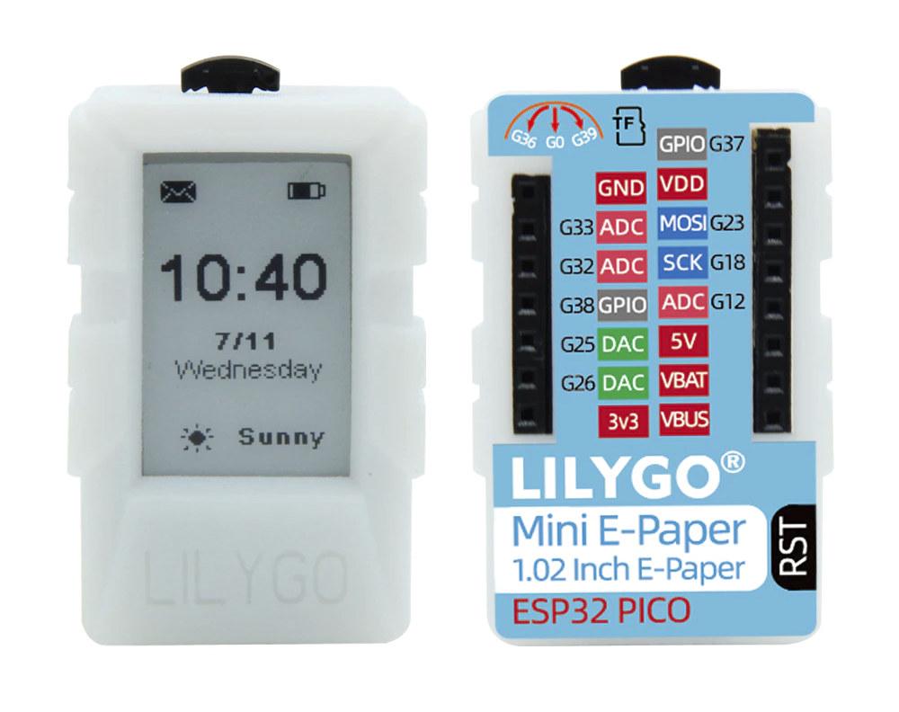 lilygo mini e-paper core