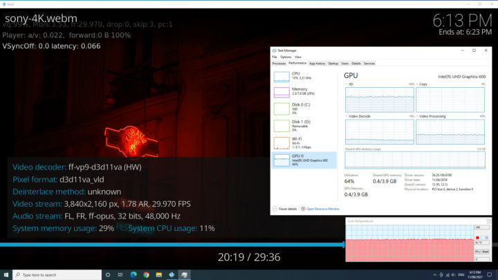 nucbox windows thermals
