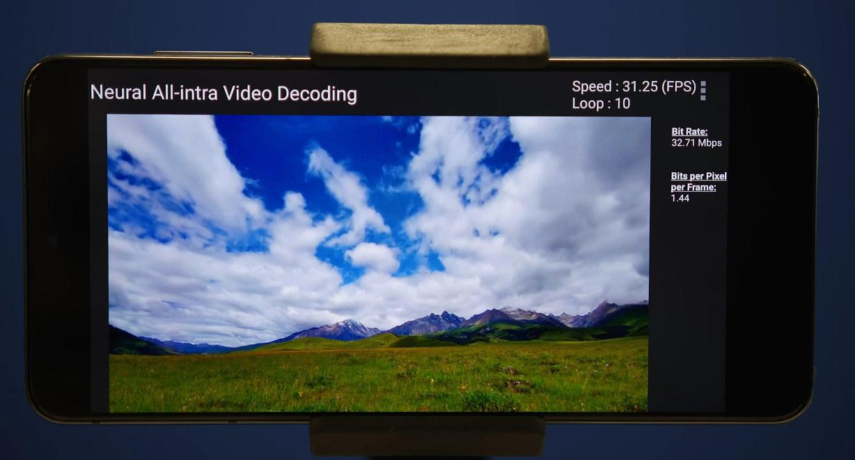 Software video decoding ai accelerator