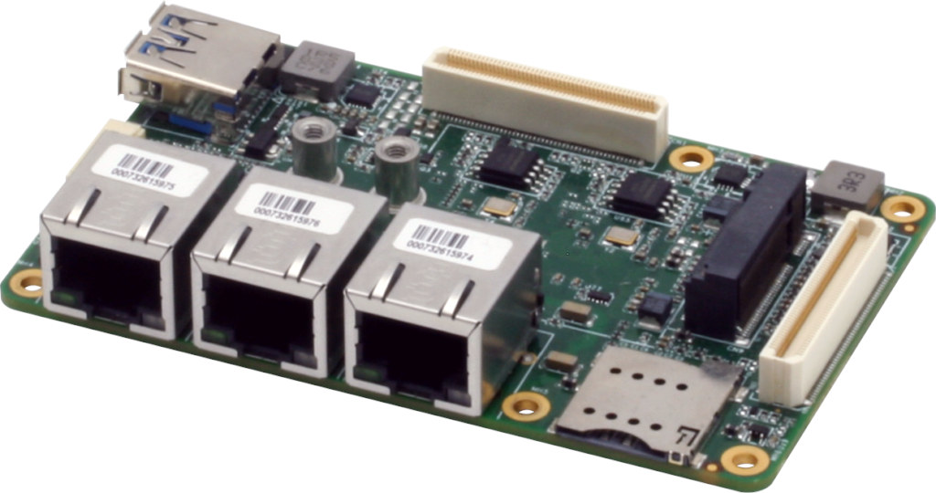 5G, triple Ethernet for UP Board