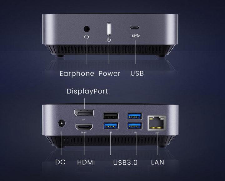AMD Athlon 300U mini PC