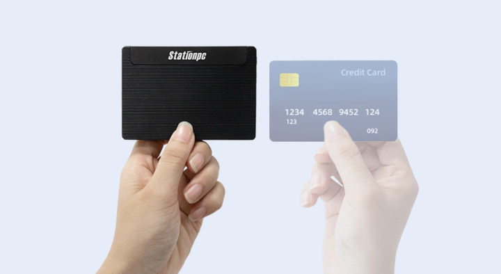 Business card-sized mini PC