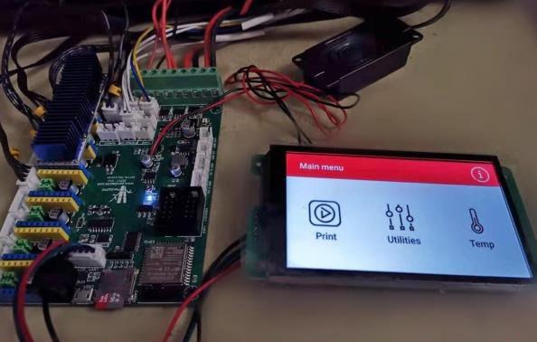 ESP32 3D printer display buzzer