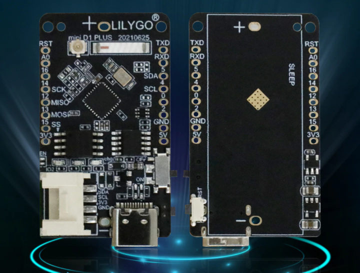Lilygo TTGo T-OI Plus without battery holder