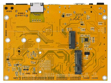 M.2 NVMe mPCIE modem-board