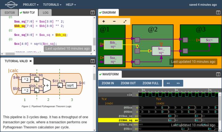 Makerchip IDE