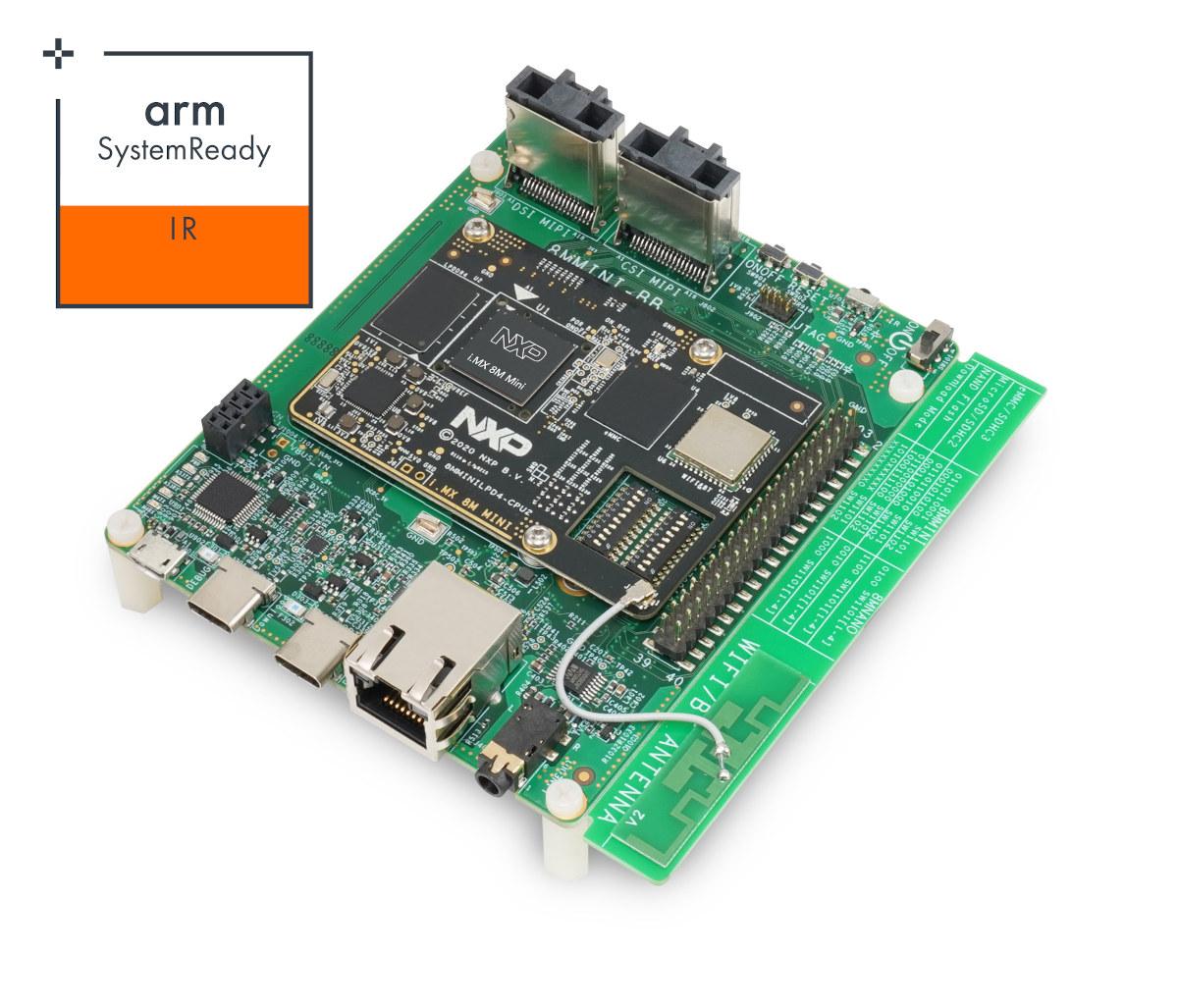 NXP EVK Arm SystemReady IR