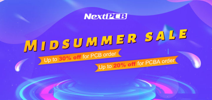 NextPCB Mid Summer Sale