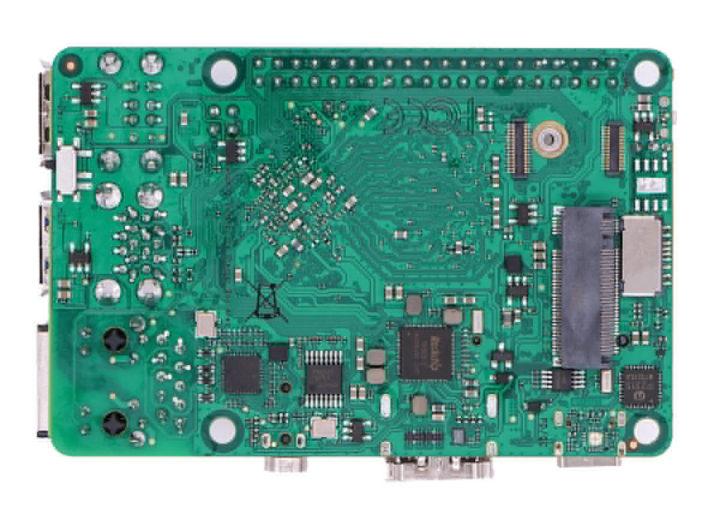 Raspberry Pi Clone M2 SSD socket