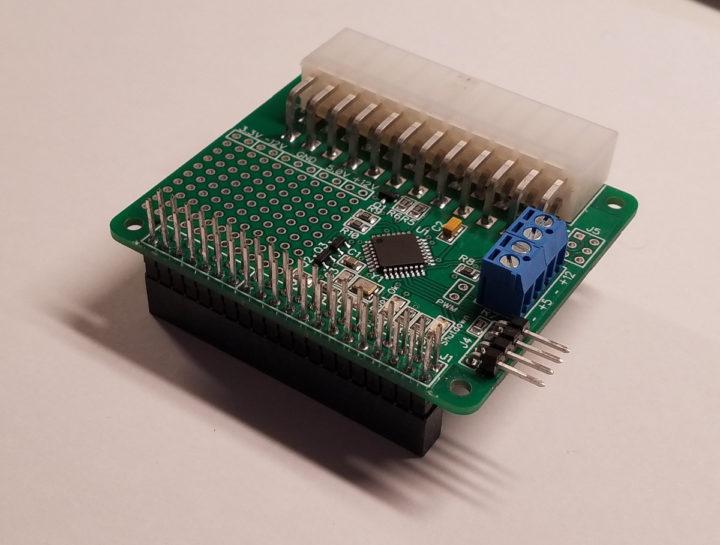 Raspberry Pi Mini ATX adapter board HAT